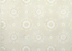 Hey, I found this really awesome Etsy listing at https://www.etsy.com/listing/166778028/1950s-vintage-wallpaper-white-and