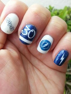 Mixture Of Decals Stamping And Free Hand Stanley Cup Finals Tampa Bay Lightning