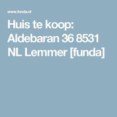 Huis te koop: Aldebaran 36 8531 NL Lemmer [funda]