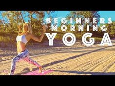 Beginner Yoga ♥  Easy Morning Yoga For A Positive Mind -  This is a five minute easy morning yoga flow for beginners that will focus on waking up your body, your mind, and allowing you to start your day in a positive way.  We all often wake up in the morning in a rush before we head of to work or school. Taking 10 min out of your morning routine and dedicating it to your body and mind is one of the best ways to make sure that you start your day with the right intention so t