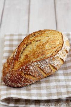Pane di grano tenero e avena integrale Focaccia Pizza, Artisan Bread, Bread Rolls, International Recipes, Bread Baking, Real Food Recipes, Bakery, Biscotti, Collage