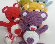 Valentine's Teddy Bear Amigurumi free pattern