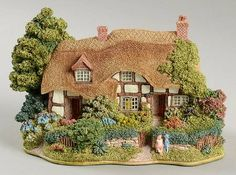 Lilliput Lane Lilliput Lane Collectors Club Meadowsweet Cottage - No Box