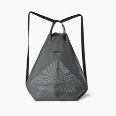 MOIRÉ bag - black mesh