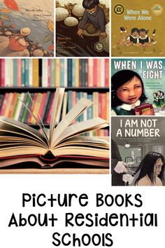 This blog post is about five must read picture books to learn more about Canada's History. Indian Residential Schools picture books, perfect for orange shirt day. Students need to learn about Canadian Residential Schools and these picture books are an easy way to make that happen. This blog post includes mentor text suggestions for grade 1, grade 2, grade 3, grade 4 and grade 5 Canadian students learning about Residential Schools. Perfect for Social Studies and cross curricular learning. Canadian Social Studies, Teaching Social Studies, Student Learning, Interactive Read Aloud, Residential Schools, Cross Curricular, Mentor Texts, Classroom Community, Readers Workshop
