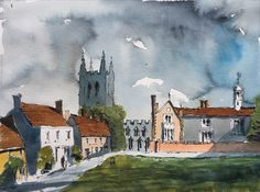 Long Melford church and hospital, Suffolk