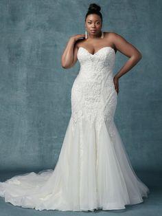 b5e0d93fb644a Maggie Sottero Wedding Dress Quincy 9MT014 plus-alt2 Asian Wedding Dress,  Mermaid Wedding Dress