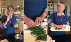 Prue Leith shares her easy technique for freezing green beans Baked Green Beans, Frozen Green Beans, Prue Leith, Great British Bake Off, Fresh, Easy, Recipes, Recipies, Ripped Recipes