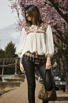 Com boho, hippie ,bohemian ,gipsy бохо, мод Western Outfits, Boho Outfits, Trendy Outfits, Trendy Fashion, Boho Fashion, Stylish Dress Designs, Stylish Dresses, Frock Fashion, Fashion Dresses