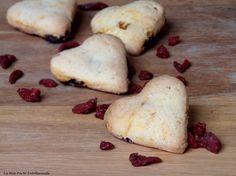 Biscotti vegan ai frutti rossi