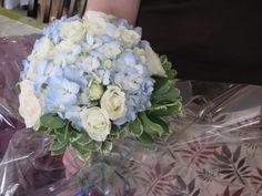 Blue bouquet  XQZT Floral Design
