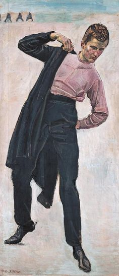 Student at Jena, Ferdinand Hodler, 1908.  Art Experience:NYC  http://www.artexperiencenyc.com/social_login