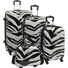 International Traveler Zebra Collection | Luggage Universe