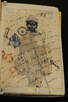 journal page by Barron Storey