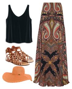"""Untitled #93"" by styledbychristinak ❤ liked on Polyvore featuring Etro, MANGO, Valentino and Rip Curl"