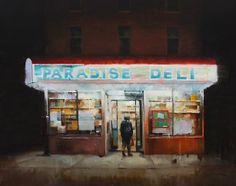 If It's Hip, It's Here: Artist Kim Cogan Captures The Quiet Side Of City Life With A Paintbrush.