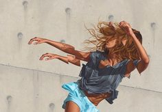 Looking at the art of James Bullough is like looking at reality through the shards of a shattered mirror. The American born, Berlin based artist's paintings and murals, featured here on our b…