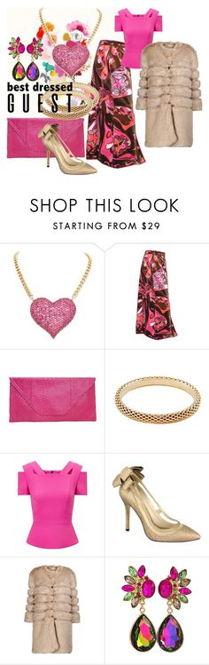 """""""Best Dressed Guest"""" by shoppe23 ❤ liked on Polyvore featuring Emilio Pucci, Roland Mouret, Menbur, AINEA, WeddingGuest, winterfashion, winterwedding and Shoppe23"""