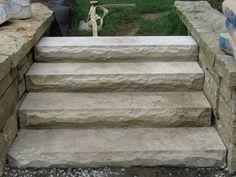 Natural Sandstone treads
