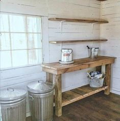 Chicken Coop - DIY potting bench - potting shed decor - garden shed Building a chicken coop does not have to be tricky nor does it have to set you back a ton of scratch.