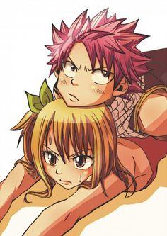 Natsu Dragneel + Lucy Hearfillia