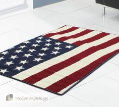 Novelty Poly Us Flag 531359 Navy Rug Childrens Rugs, Navy Rug, Girls Bedroom, Cool Kids, Little Girls, Flag, Kids Rugs, Modern, Home Decor