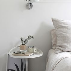 It's no secret I'm a huge fan of Jo Malone London scented candles. Not only do the sleek, hand-poured candles look gorgeous around home, th. Jo Malone, Dream Bedroom, London, Trays, Vases, Monochrome, Table, Bedrooms, Magic