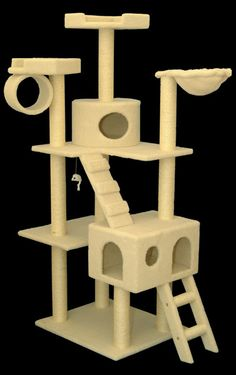 An incredibly large cat tower for your more active cat.