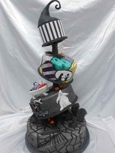 TIM BURTON FANS UNITE!   These Disney Themed Cakes Are Going To Be The Best Things You've Seen All Day