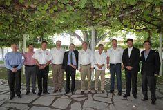 El Gobernador Rubén Moreira Valdez sostuvo un encuentro de trabajo con directivos de la empresa Energías de Portugal (EDP)