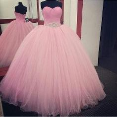 e4ce6606e08    30 OFF   Pink Ball Gown Quinceanera Dresses 2016 Beaded Vestidos De 15  Anos Cheap
