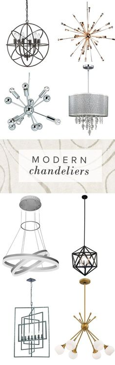 Make a statement with an eye-catching chandelier. It's the perfect finishing touch for an entryway, living room, bedroom or dining room. Find your modern chandelier at AllModern. Visit today and sign up for exclusive access to sales plus FREE SHIPPING on orders over $49.