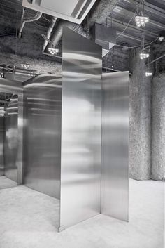 Arquitectura-G, José Hevia · Acne Studios Shop · Divisare Swedish Clothing Brands, Japan Store, Steel Panels, Retail Interior, Interior Shop, Nagoya, Retail Space, Visual Effects, Contemporary Architecture