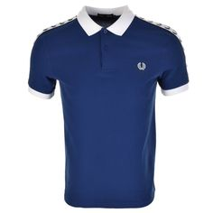 Fred Perry Italy Polo T Shirt Blue | Mainline Menswear Priced at £65.00