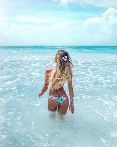 As the sun goes down♡ summer vacation outfits, swimwear fashion, bikini fashion, Summer Beach, Summer Vibes, Cute Beach Pictures, Summer Vacation Outfits, Beach Poses, Photos Voyages, Summer Pictures, Vacation Pictures, Beach Girls