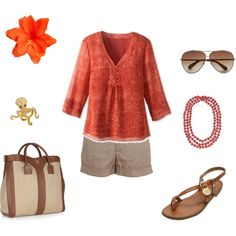 I'm On Vacation, created by archimedes16.polyvore.com