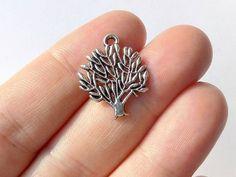 10 Tree of Life Charms  Tibetan Silver  S0121 | Etsy