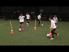 coerver personal training 2 Pmfc u112004 - YouTube