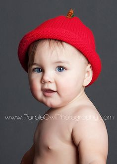 Cute Baby in Red Hat Portrait by Purple Owl Photography Broad Lighting, Cute Kids, Cute Babies, Picture Ideas, Photo Ideas, Family Photography, Portrait Photography, Purple Owl, Free Diapers