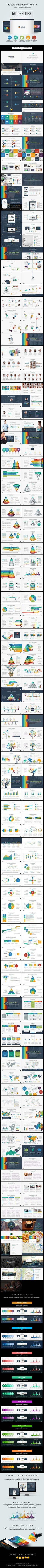 The Zero Business Infographic Presentation - Business PowerPoint Templates