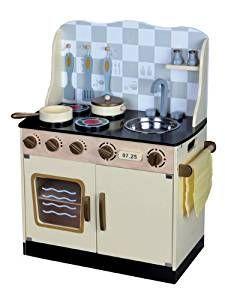dca4beb91333 Leomark WOOD CHILDREN VITAGE | Spielküche komplett aus Holz. Die Küche ... #