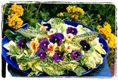 Flower summer salat