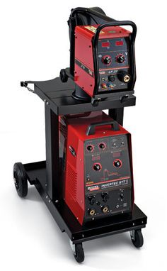 Surface Tension Technology MIG Welder for open pipe welding with more quality and improved output. See more about STT technology.