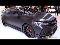 2016 Honda Civic type r concept - YouTube