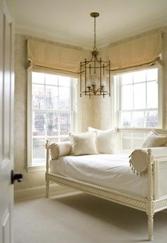 Lovely room with a daybed that could serve as a guest room or a personal retreat! Love the wall color!