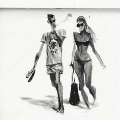 Old sketches from Barcelona #stufffromthestudio