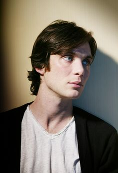 Cillian Murphy as jack hyde/ana's boss/Commissioning Editor at SIP  (red hair tied in a ponytail... small, silver, hooped earrings glint in both ears... fathomless dark blue eyes)
