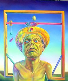 Selected Artist (American Surrealist Initiative), Intaglio and Oils. Oneirical and Classic Surrealism. Mural Painting, Paintings, Question Mark, Psychedelic Art, Portrait, Festival Fashion, Art Boards, Illustrators, Digital Art