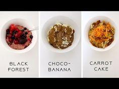 3+2 ΥΓΙΕΙΝΑ ΠΡΩΙΝΑ ΜΕ ΒΡΩΜΗ! 🌞 - YouTube Carrot Cake, Carrots, Pancakes, Banana, Vegan, Healthy, Breakfast, Youtube, Morning Coffee
