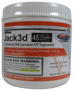 USP Labs Jack3d Pre Workout 250 Grams (7 Amazing Flavors) l Rock Bottom Fitness
